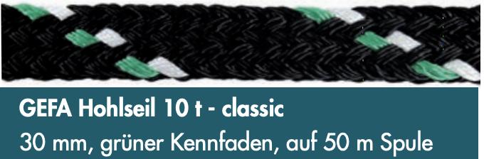 GEFA Hohlseil 10 t - classic