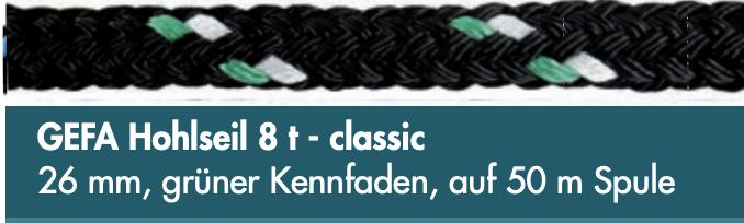 GEFA Hohlseil 8 t - classic
